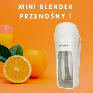 Witaminowa energia - mini blender (perłowy)